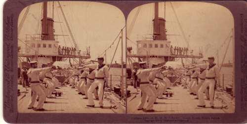 Naval Cutlass Practice