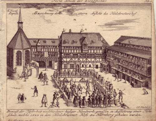 Nürnberg Fechtschule 1623