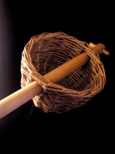 Wickerwork basket