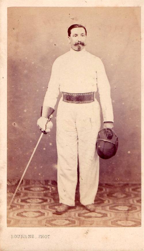 Napoleon III inspired the facial hair