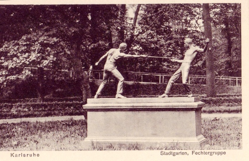 The lost fencers of Karlsruhe
