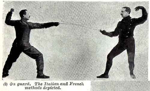Italian vs. French Guard Positions