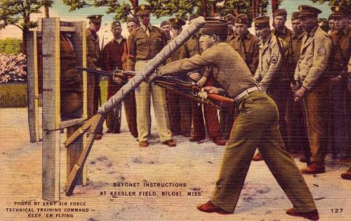 U.S. Bayonet Exercise