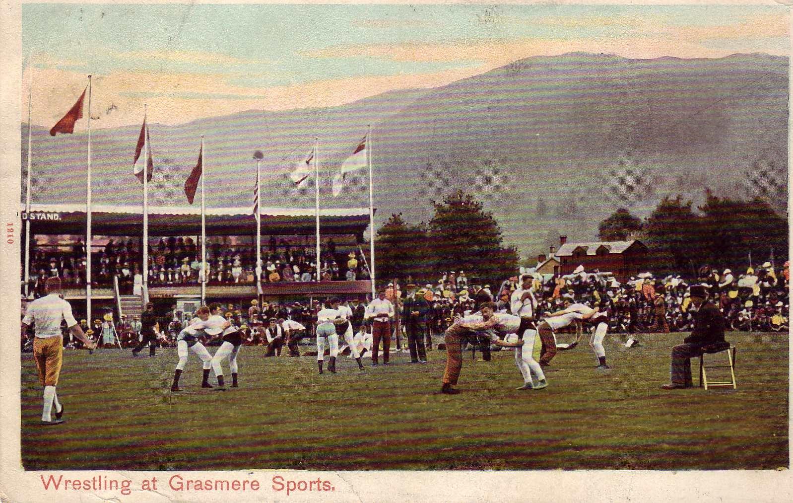 Wrestling at Grasmere Sports