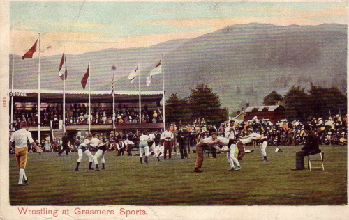 Wrestling at Grasmere Sports