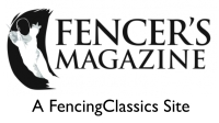 Fencer's Magazine Title copyright Secret Archives Press 2010 2011 2012