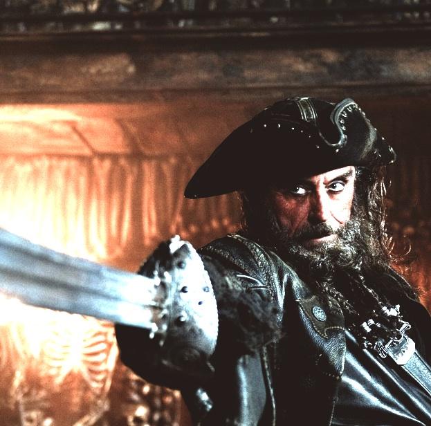 Pictures Blackbeards Ship Yields Ornamental Sword