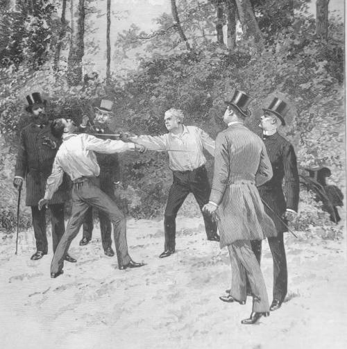 Duel Boulanger-Floquet, 1888
